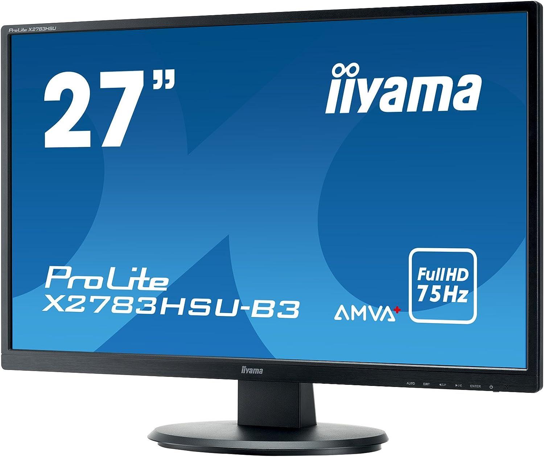 iiyama X2783HSU-B3 Monitor AMVA+ LED 68,6cm (27