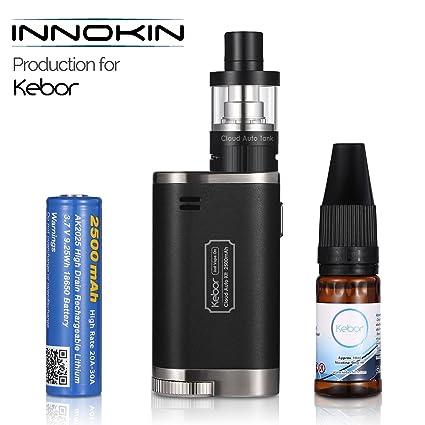 Innokin Vapeador Cigarro Electronico de Vapor, Kebor® Cloud Auto 40W Vape Box Mod Kit Cigarrillo MTL/DTL Cambiar Automáticamente, 2ml top-fill ...