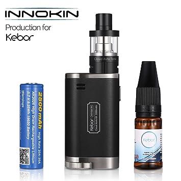 Innokin Vapeador Cigarro Electronico de Vapor, Kebor® Cloud Auto 40W Vape Box Mod Kit