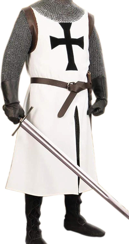 MEDIEVAL TEMPLAR KNIGHT Tunic Surcoat 2 colors 3 design Crusader SCA LARP