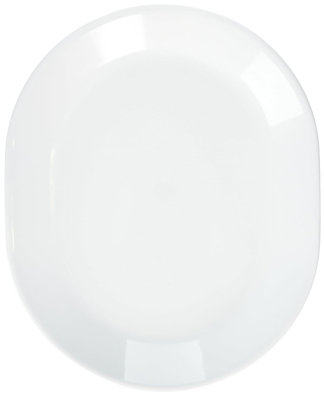 Corelle Livingware 12-1/4-Inch Serving Platter, Winter Frost White (Winter Frost White- 2-Pack) by Corelle