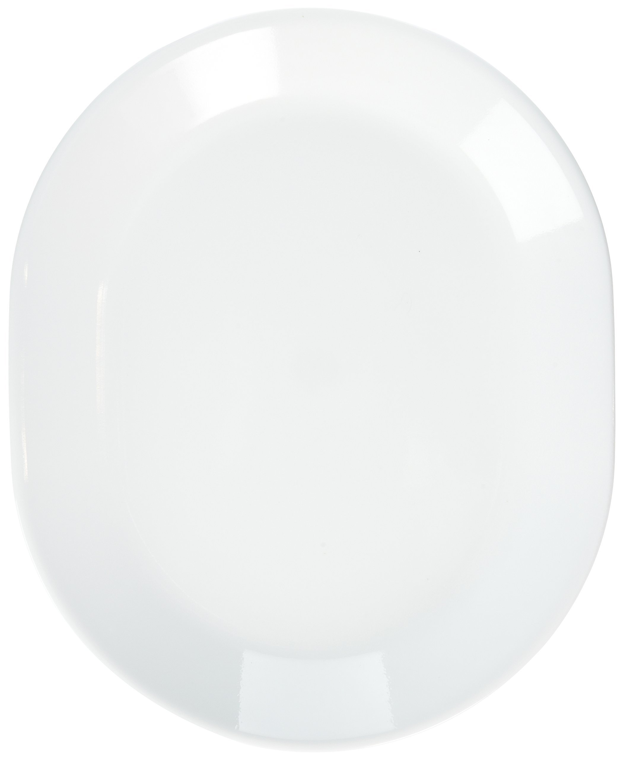 Corelle Livingware 12-1/4-Inch Serving Platter, Winter Frost White (Winter Frost White- 2-Pack) by Corelle