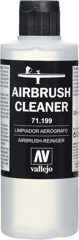 Vallejo 71.199, Limpiador Aerógrafo - 200 ml