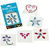 Fun Express Assorted Deluxe Body Jewels (1 Dozen)