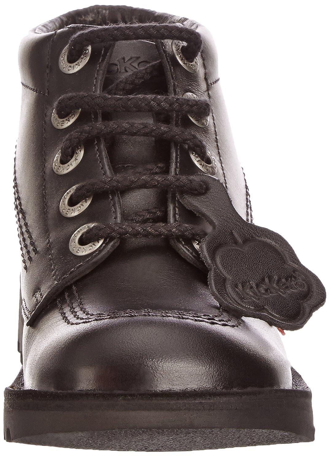 Kickers Kick Hi - Black Leather 8 Mens Boots UK 8 Leather / EU 42|Black B001BMVV8G 5756ca