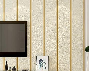 Gitter-streifen Tapete Moderne einfache vlies Wandtapete ...