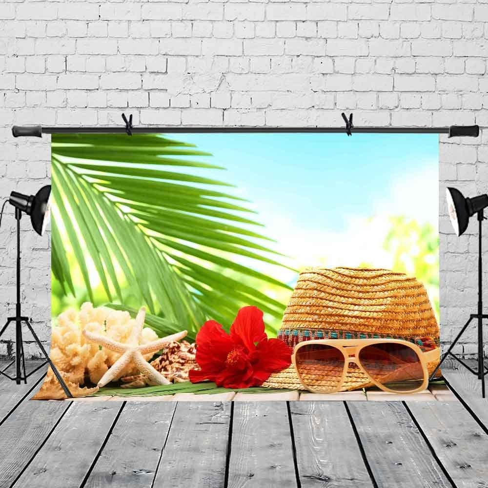 LYLYCTY 7x5ft Vacation Backdrop Seaside Travel Holiday Summer Style Photography Backdrop Photo Studio Photography Background Props Video Studio Props LYLX495