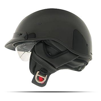 Zoan ruta 66 la mitad casco – negro – XL