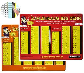 Unbekannt Pressogramm: schreib und wisch weg - Zahlen bis 20 ...