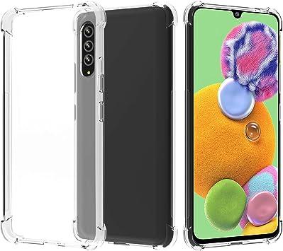 Migeec Funda para Samsung Galaxy A90 5G Suave TPU Gel ...