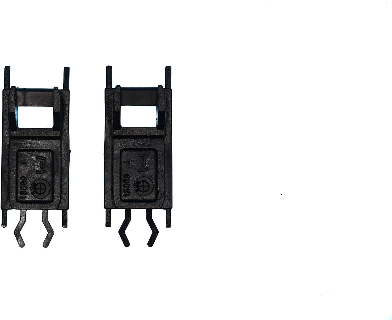 OGHParts Compatible Replacement Sunroof Slider Rail Plastic Clips for BMW E36 E39 E53 E46 Series Left and Right