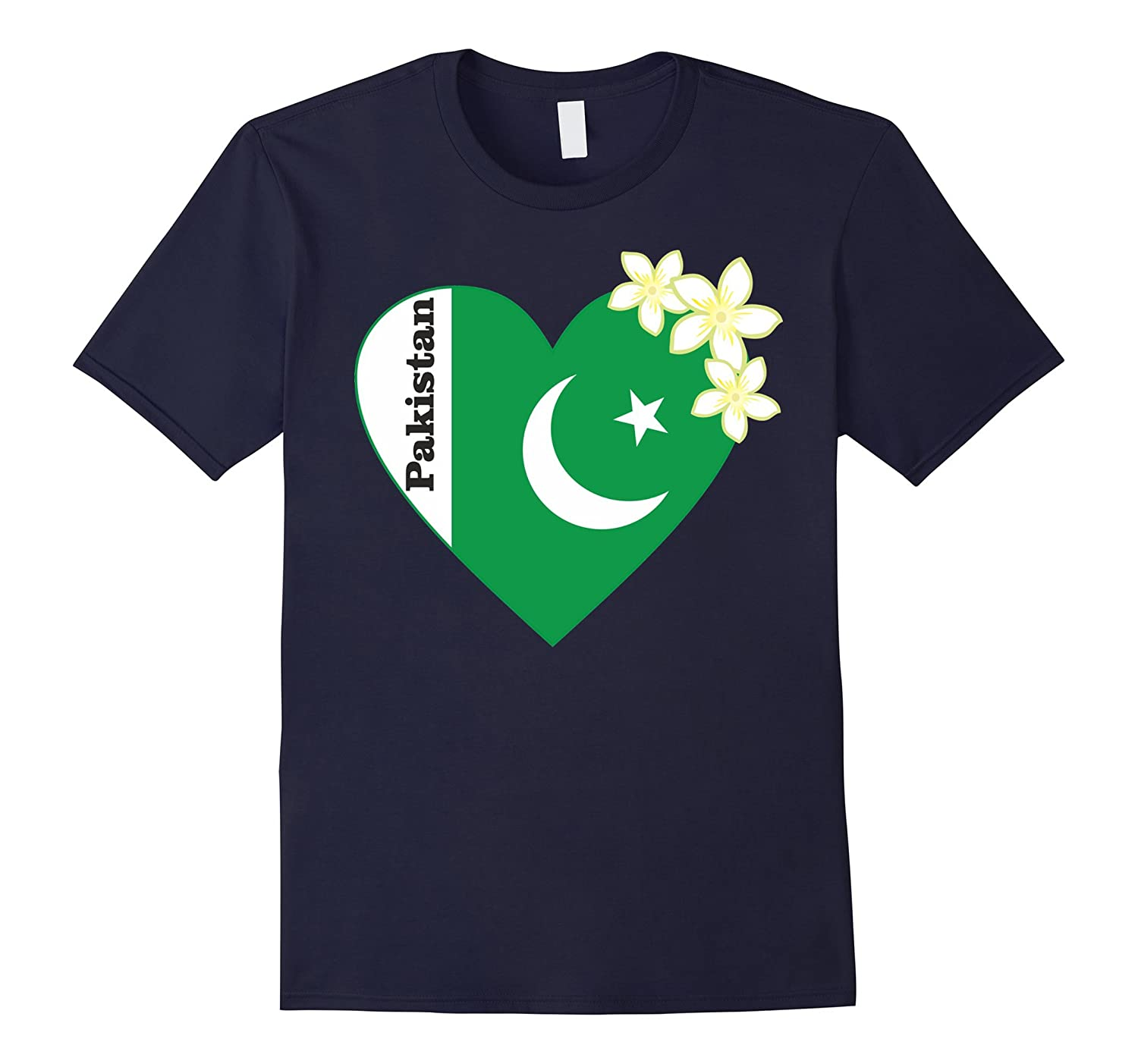 I love Pakistan T Shirt Flag of from National Pakistani tee-TH