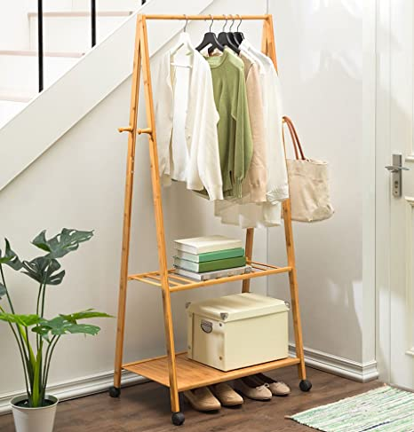 Coat Stand - Perchero Bamboon Estar colgado Ropa Estante ...