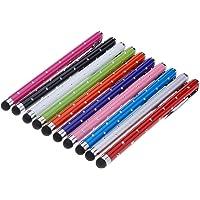 Yizhet 10x Stylus Pen Touch-pen Universele touchscreen Pen voor iPhone iPad Samsung en alle smartphones Mobiele tablet met capacitief touchscreen (Strass-versie)