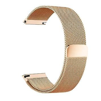 BarRan reg; Nokia Steel HR 36mm Bracelet, 18mm Milanese Boucle du Bracelet Montre Serrure
