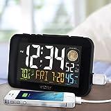 La Crosse Technology 617-1485B Atomic Color Alarm