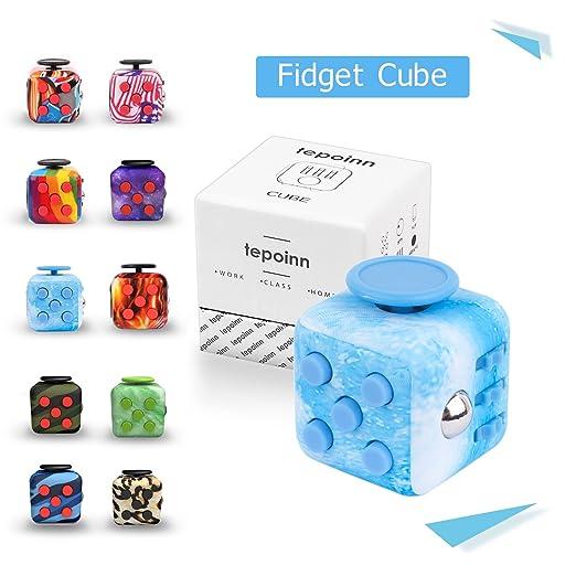 68 opinioni per Tepoinn Fidget Spinner cube Tri Fidget Mano Dito EDC ADHD Spinner Spin Widget