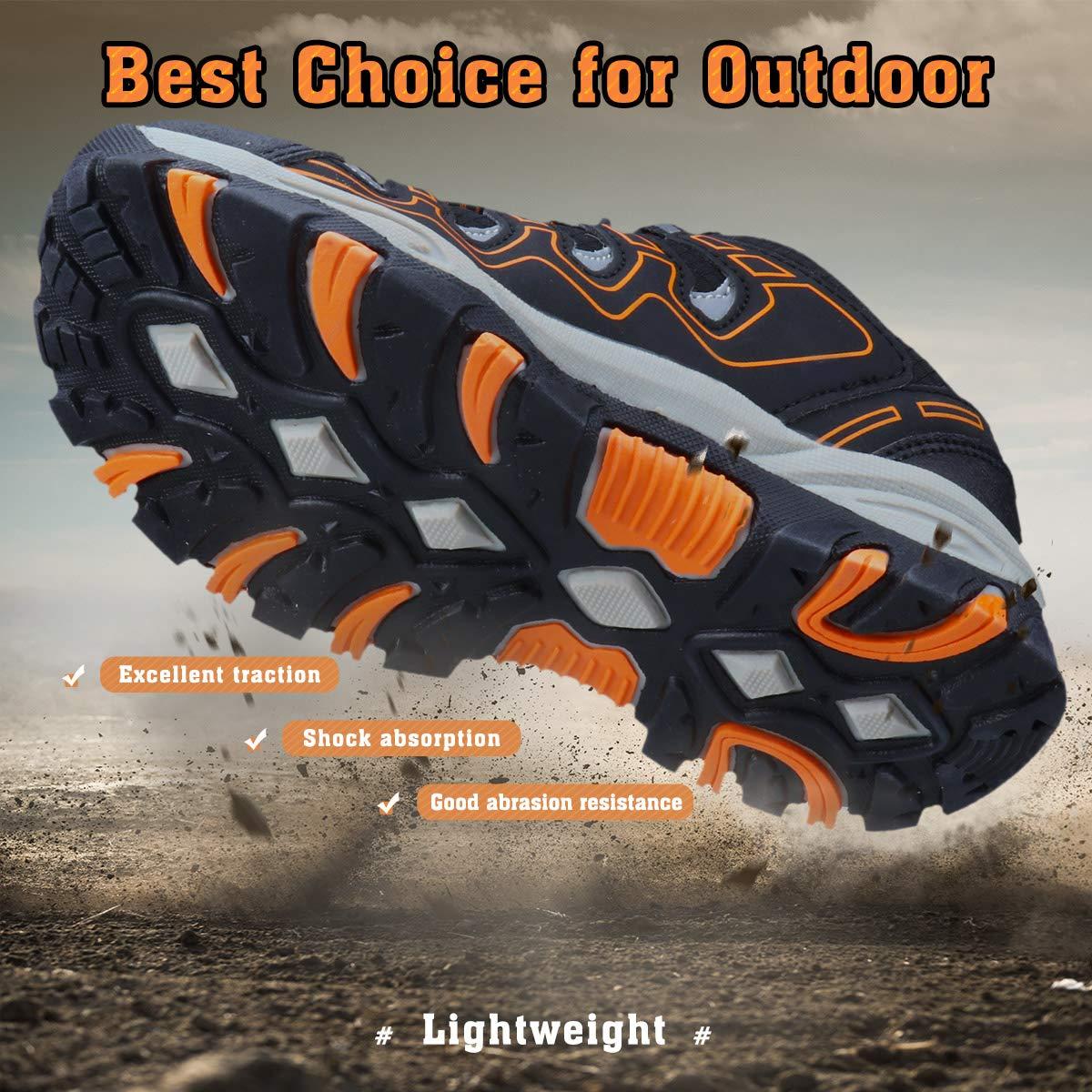 UOVO Boys Shoes Boys Tennis Running Sneakers Waterproof Hiking Shoes Kids Athletic Outdoor Sneakers Slip Resistant Little//Big Boys