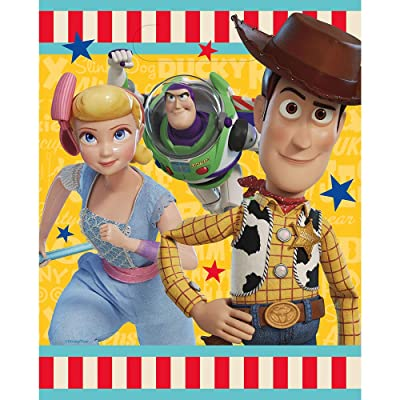 Unique Industries Disney Toy Story 4 Movie Loots Bags (8 Per Package): Clothing