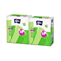 Bella Panty Mini Classic Pantyliners - 36 Pieces (Pack of 2)