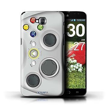 Carcasa/Funda STUFF4 dura para el LG G Pro Lite/D680 / serie: Consola de juegos - Xbox 360 blanco