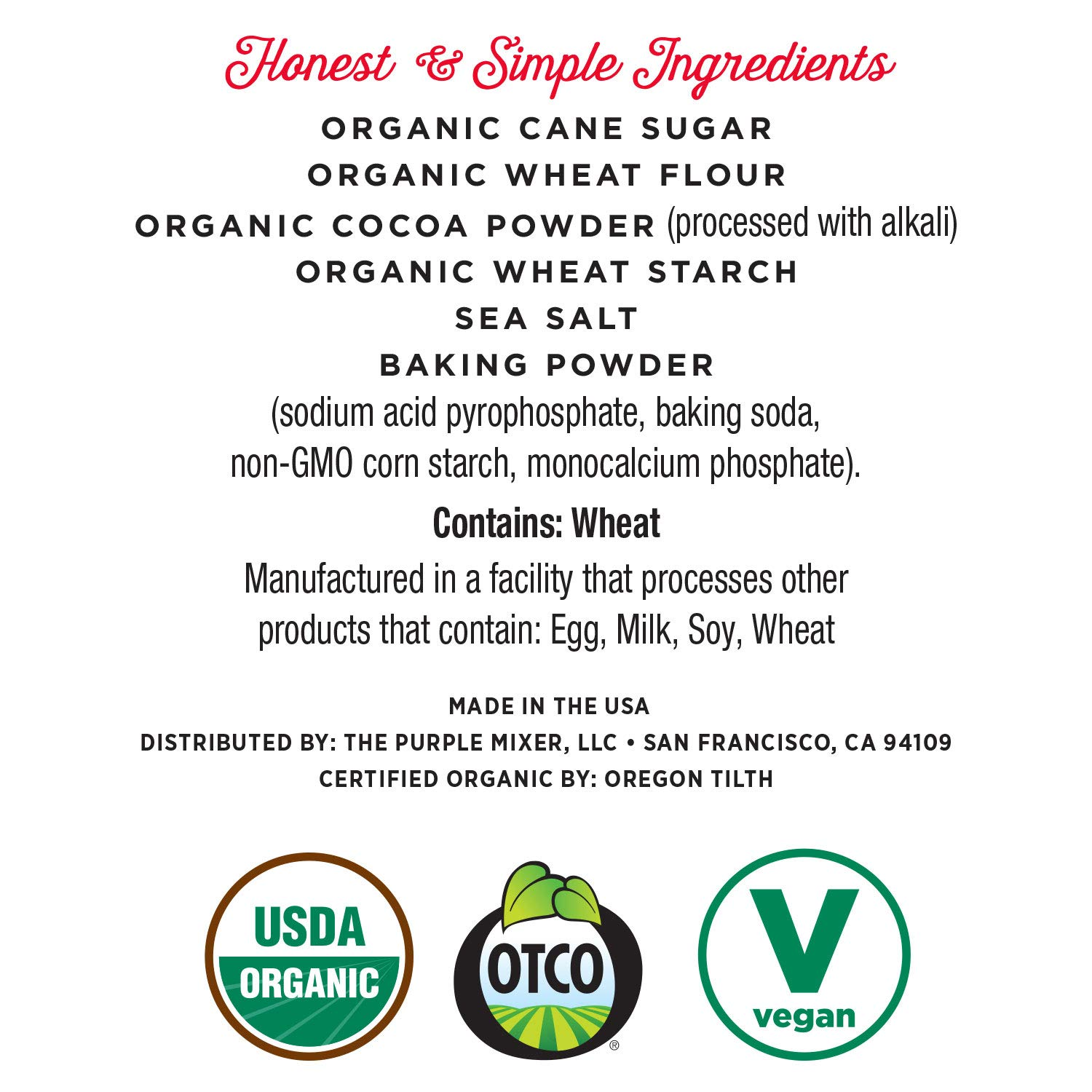 Miss Jones Baking Organic Fudge Brownie Mix, Non-GMO, Vegan-Friendly: Rich Cocoa (Pack of 6) by Miss Jones Baking (Image #3)