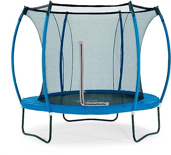 Plum 8 ft colores springsafe trampoline-snorkel azul/lima: Amazon ...