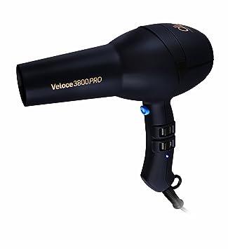 Diva Professional Veloce 3800 Pro Black Diva - Secador de pelo, color negro: Amazon.es: Salud y cuidado personal