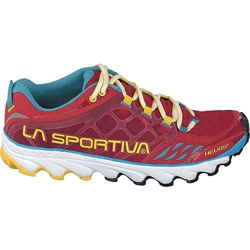 La Sportiva Helios SR Woman, Zapatillas de Trail Running para Mujer, Rojo (Berry 000), 37 EU: Amazon.es: Zapatos y complementos