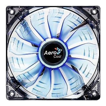 Aerocool Air Force 14cm 13 Blade Blue LED FDB Air Circulator