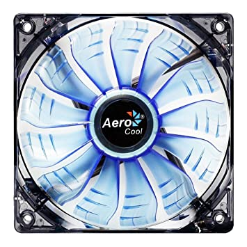 Aerocool Air Force 14cm 13 Blade Blue LED FDB Air Circulator Fan