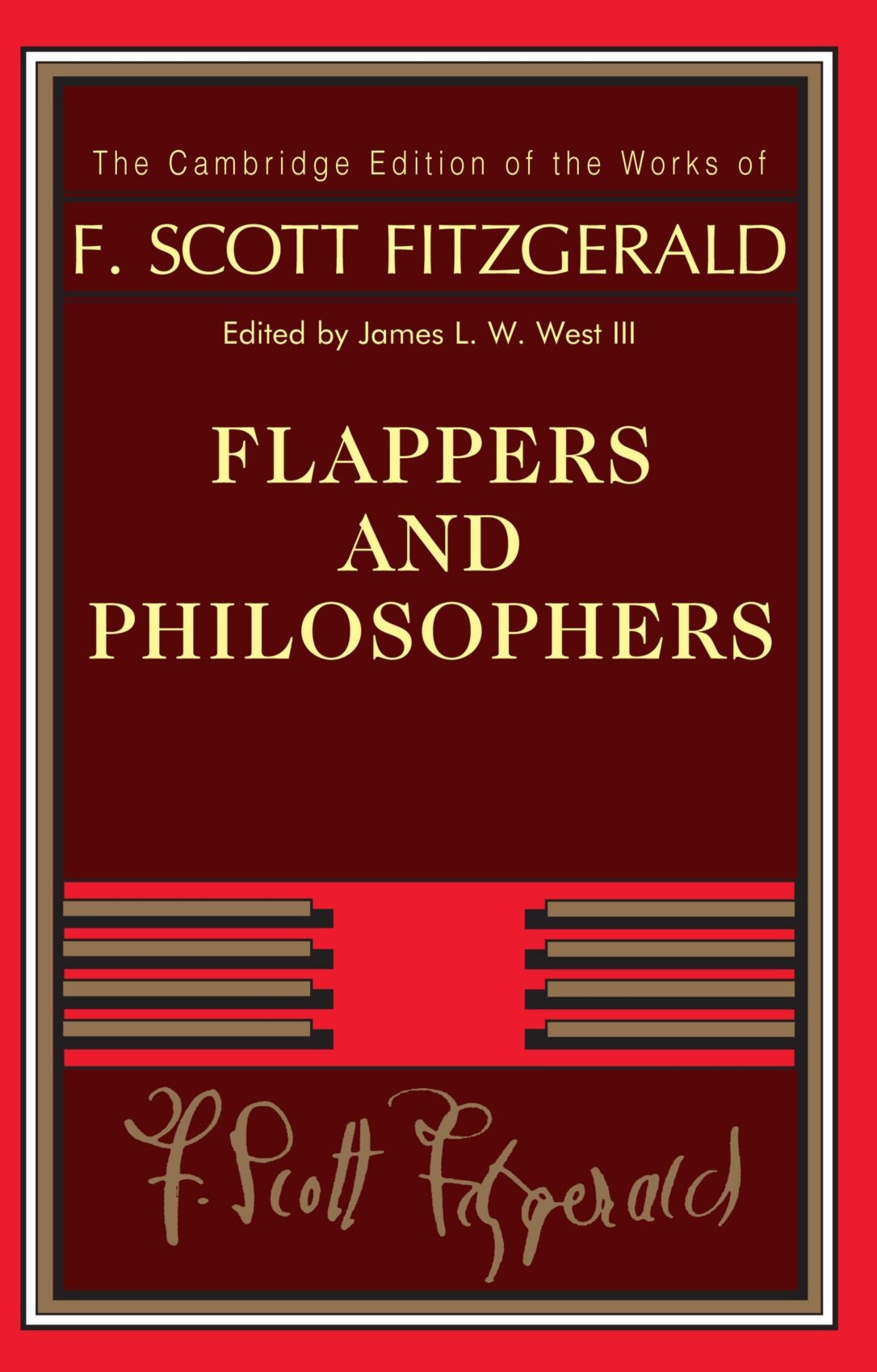 Read Online Flappers and Philosophers (The Cambridge Edition of the Works of F. Scott Fitzgerald) pdf epub