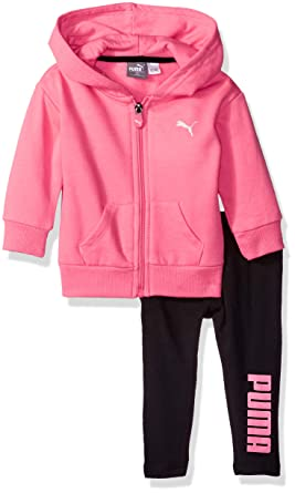784087a9d7dab PUMA Baby Girls' Fleece Hoodie Set
