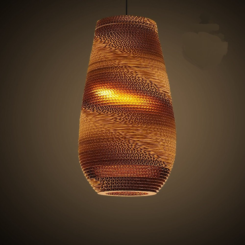 Southeast Asian Style Cafe Woven Naked Pupa Thai Pendant Lights Restaurant And Teahouse Bar Hanging Lighting by WINZSC