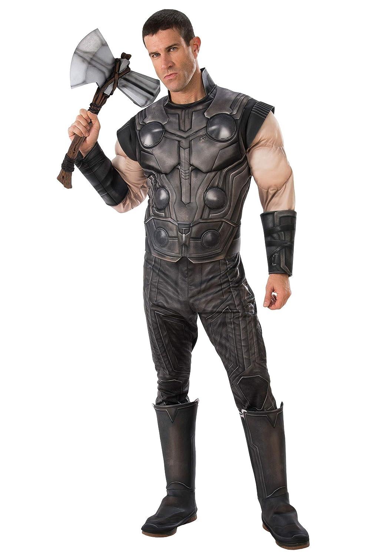 Seleccione de las marcas más nuevas como Marvel Marvel Marvel Infinity War Adult Deluxe Thor Fancy Dress Costume X-Large  descuentos y mas