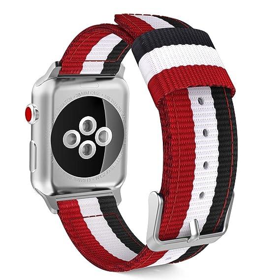 Banda Reloj Nylon, Banda Repuesto para Reloj, Compatible Banda Reloj Nylon, Banda Reemplazo