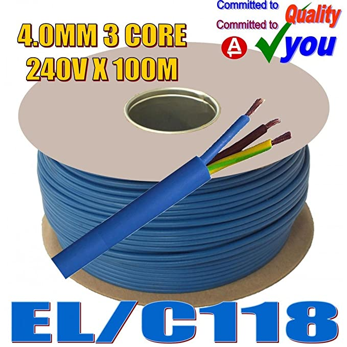 DYNATEC - Bobina de cable (100 m, 230-240 V, 13-32 A), color azul: Amazon.es: Bricolaje y herramientas