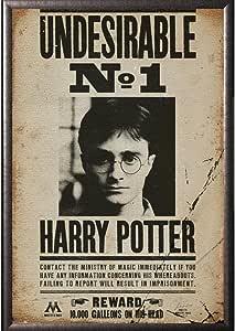 Con marco Harry Potter - sin indeseables 1 soporte de 24 x