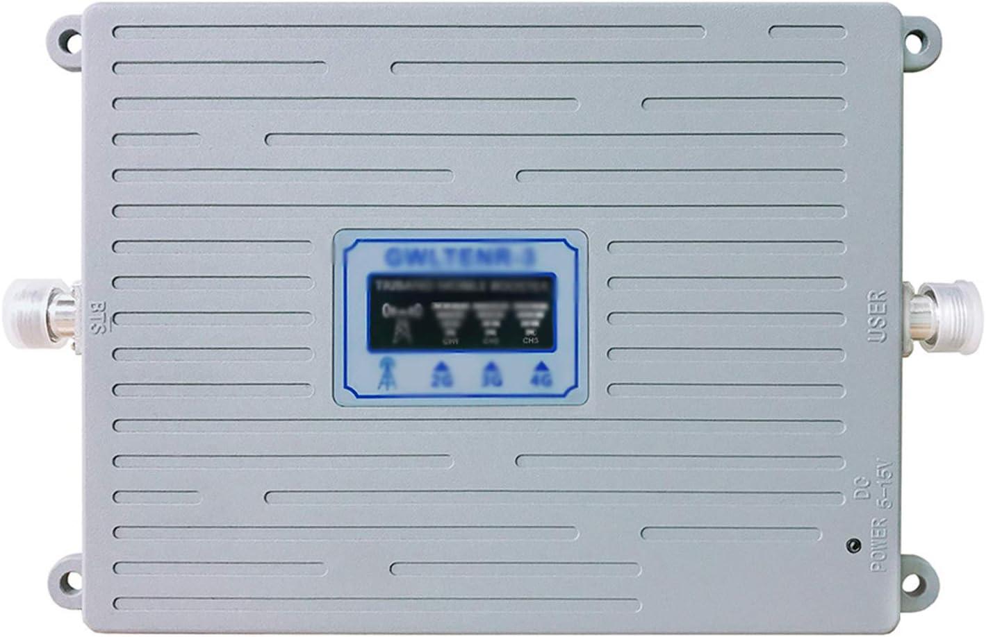 C&JQ Amplificador de Señal Movil 3G Interior,W-CDMA 2100MHz ...