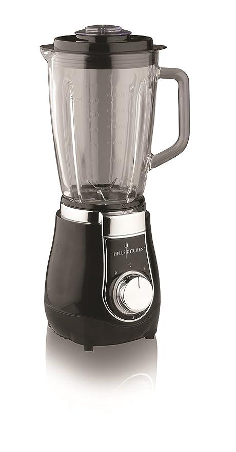 HELLS KITCHEN HK026 Batidora de vaso 1.5L 500W Negro - Licuadora ...