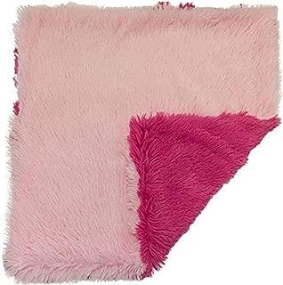 product image for B07F6YDSLG Bessie and Barnie Bubble Gum/Lollipop Luxury Shag Ultra Plush Faux Fur Pet, Dog, Cat, Puppy Super Soft Reversible Blanket (Multiple Sizes)