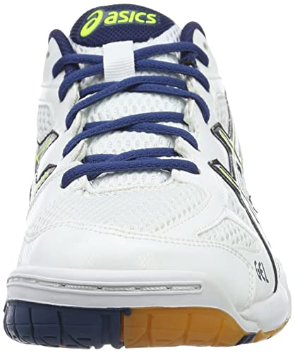 Asics Gel Flare 5 M, Zapatos de Voleibol para Hombre, Blanco