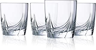 product image for Luminarc 13 Ounce Ascot Double Old Fashion Glasses, Set of 4, Short, Clear