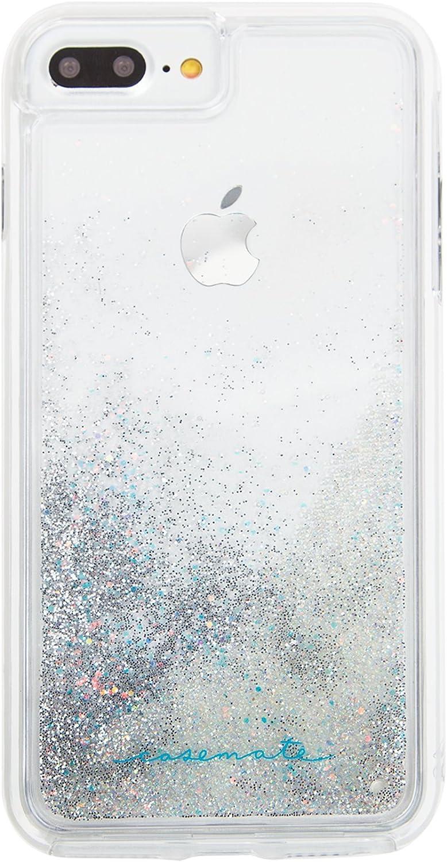 Case-Mate - iPhone 7 Plus Case - WATERFALL - Cascading Liquid Glitter - for iPhone 7 Plus / 6s Plus / 6 Plus - Iridescent - AZN035353