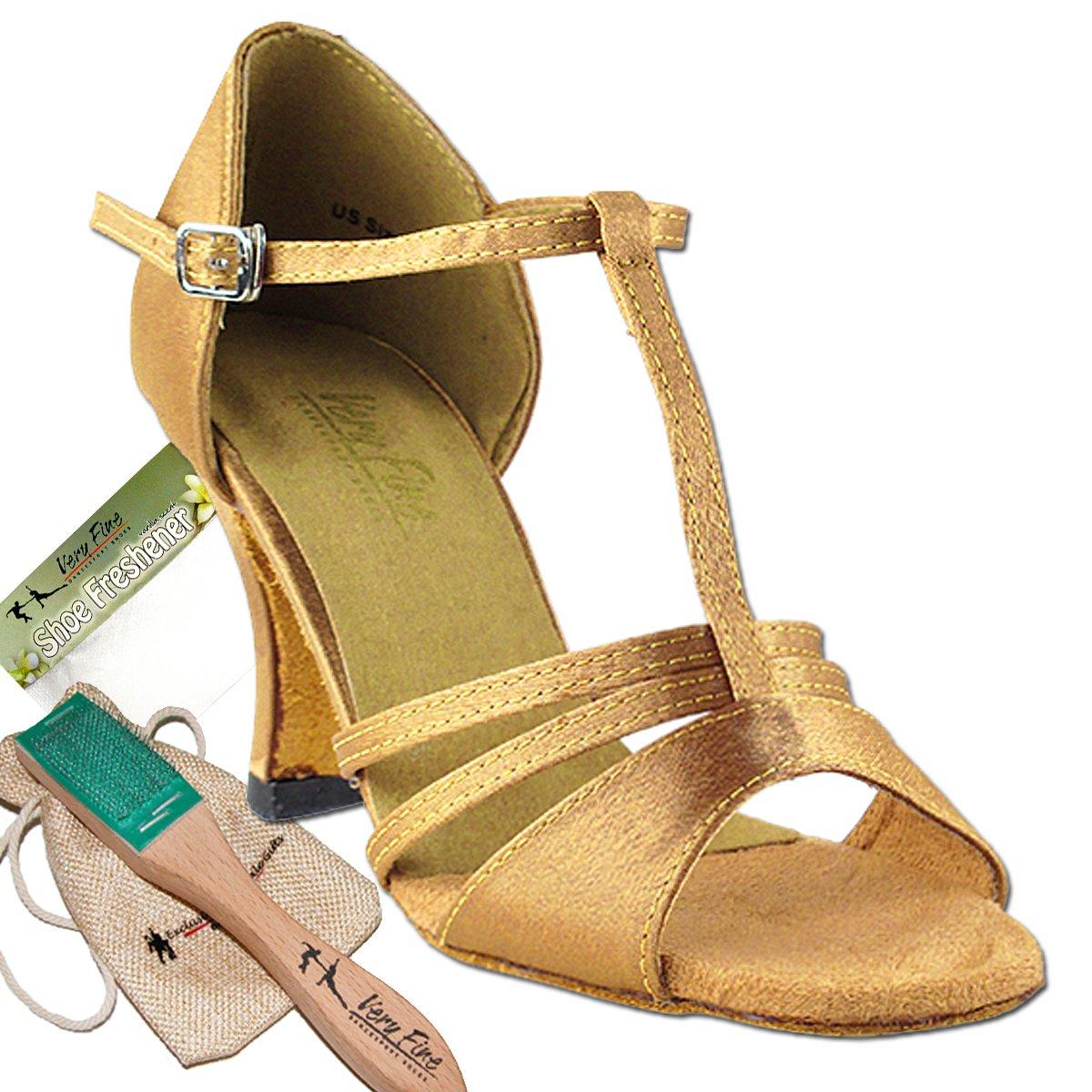 レディース社交ダンスシューズウェディングサルサタンゴ靴1683ebb comfortable-very Fine 2.5