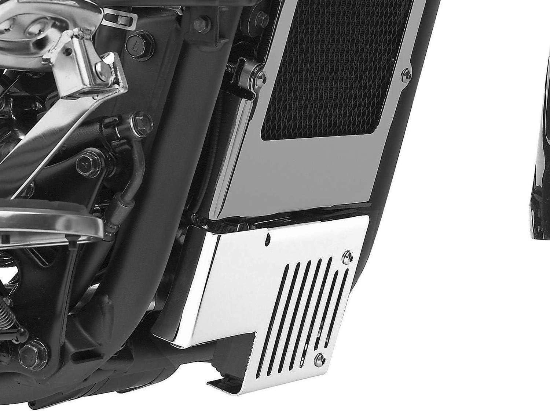 Yaootely Rectificador de Acero Inoxidable Pulido de la Motocicleta Protector de Rejilla Protector para Vulcan 900 VN900 2006-2020