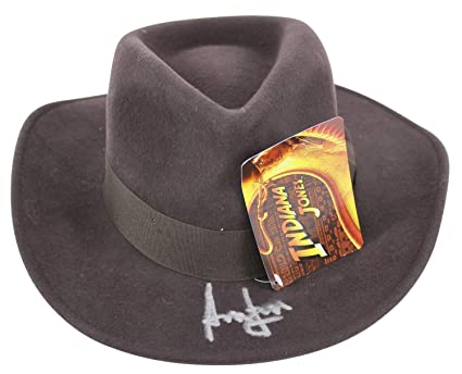f9b2ceae53f ... purchase harrison ford indiana jones authentic autographed signed hat  autographed signed bas a08764 e97a6 e2299