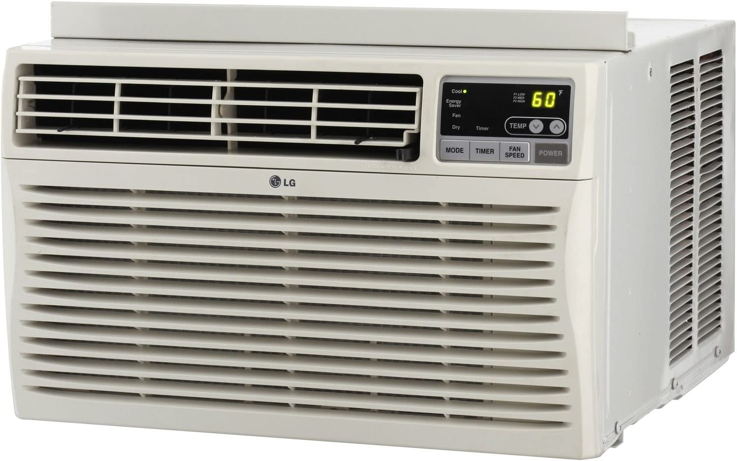 LG Electronics lw1512ers 15.000 BTU 115-volt Window-Mounted Aire Acondicionado con Mando a Distancia: Amazon.es: Hogar