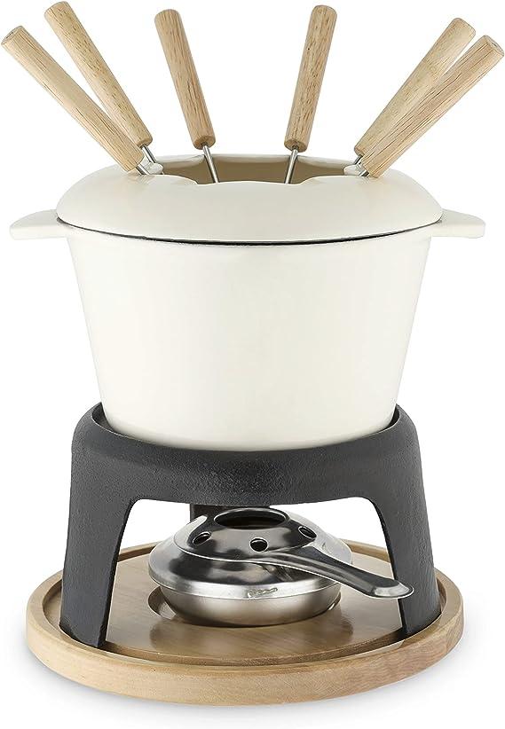Cast Iron Cheese Melting Pot