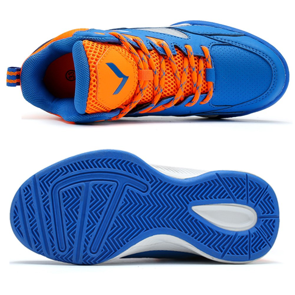 VITIKE Child Basketball sneakers Sports Shoes Mesh Breathable Student Basketball Shoes Anti-skid Running Shoes
